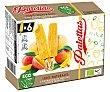 Polos palettas ecológicos naturales de mango Pack 6 x 55 ml Nordwik