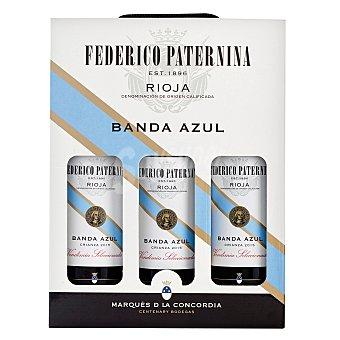 Paternina Lote 72: 3 botellas D.O. Ca. Rioja Banda Azul tinto crianza 75 cl. pack 3x75 cl Pack 3 x 75 cl