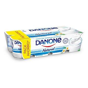 Danone Yogur natural 8 unidades de 125 g