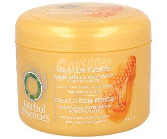 Herbal Essences Mascarilla intensiva fortificante con esencias de miel y albaricoque para cabellos dañados 200 mililitros