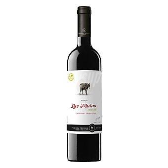Las Mulas Vino tinto cabernet sauvignon de Chile Botella 75 cl