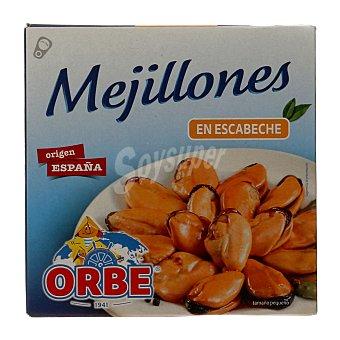 Orbe Mejillones en escabeche 20/30 piezas Lata 69 g