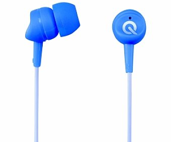 QILIVE 27E7039 Auriculares tipo Intrauricular Azul, con cable