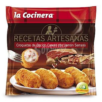 La Cocinera Croquetas de cocido casero con jamón serrano 'recetas Artesanas' 500 g