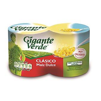 Gigante Verde Maiz clasico bipack Lata 280GR