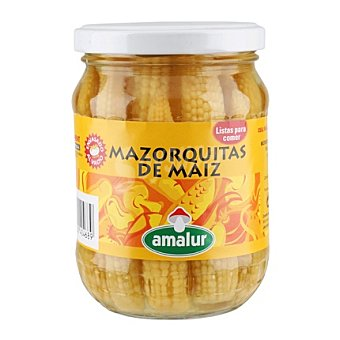 Amalur Mazorquitas maiz frasco cristal 190 g