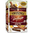 Infuso té chai con jengibre Estuche 20 bolsitas Twinings