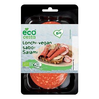 Ecocesta Lonchas veganas Bio sabor salami Paquete 100 g
