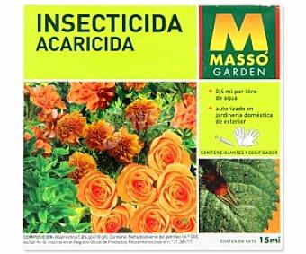 MASSÓ Garden Insecticida acaricida , autorizado en jardinería doméstica de exterior 15 Mililitros