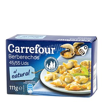 Carrefour Berberechos pequeños 45/55 63 g
