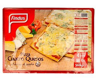 Findus Pizza 4 quesos 560 gramos