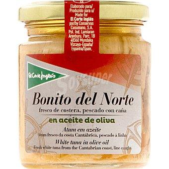 EL CORTE INGLES Bonito del norte en aceite de oliva  frasco 160 g neto escurrido