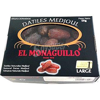 EL MONAGUILLO Dátiles naturales medjoul Caja 1 kg