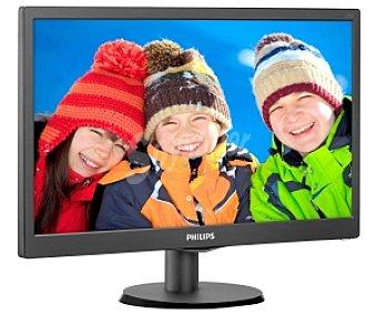 """Philips Monitor Led 243V5LHAB tamaño de pantalla 23,6"""", tecnología de imagen: led, resolución 1920 x 1080, formato 16:09"""