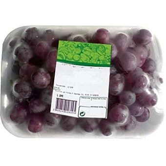 Uvas moradas peso aproximado Bandeja 1 kg