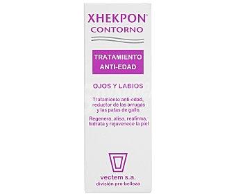 Xhekpon Contorno de ojos, tratamiento antiedad, reductor de arrugas y patas de gallo Bote 15 ml