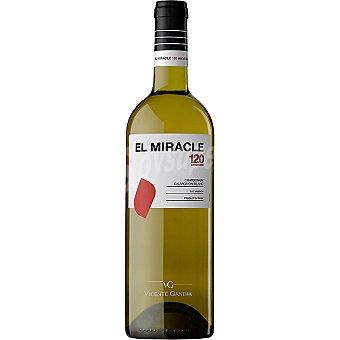 Miracle Vino blanco chardonnay sauvignon blanc de Valencia Botella 75 cl