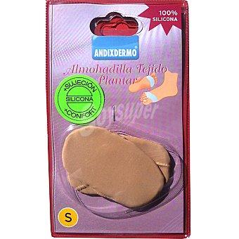 ANDIXDERMO almohadilla de silicona forrada talla S blister 2 unidades