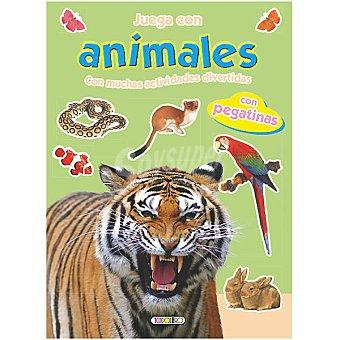 Juega con animales y pegatinas 1 Unidad