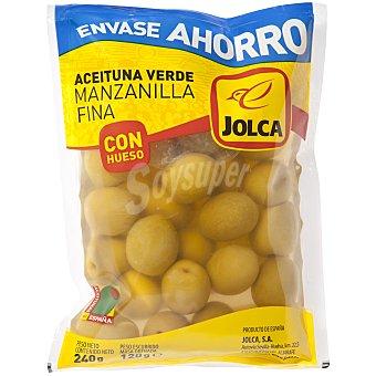 Jolca Aceituna bolsa c/h Bolsa 120GR