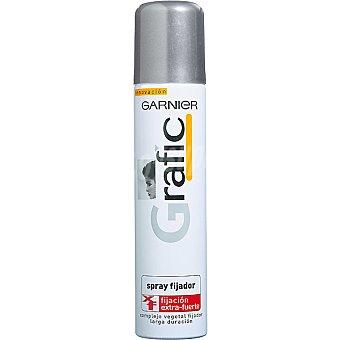 Grafic Garnier Fijador extra fuerte Spray 250 ml