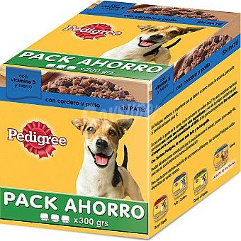 Alimento para perro con cordero y pollo caja 900 g Pack ahorro 3 tarrinas