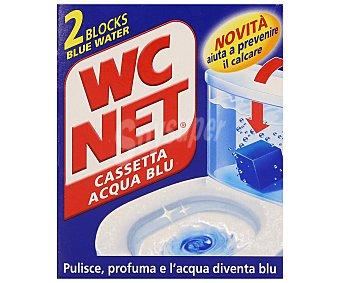 WC Net Pastillas para WC limpia cisternas 2 uds. de 45 gr