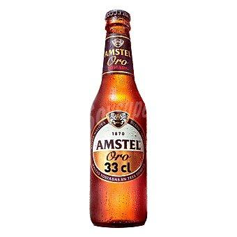 Amstel Oro Cerveza tostada Botella 33 cl