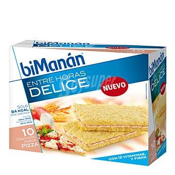 Bimanan Crackers sabor pizza Delice 10 ud