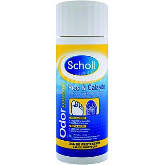 Scholl Polvos superabsorbentes de pies y calzado doble acción 24h de protección Bote 75 g