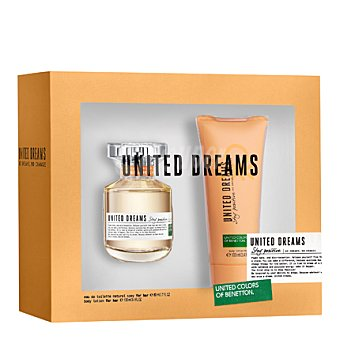 Benetton Estuche colonia United Dreams Stay Positive spray 80 ml. + body lotion 100 ml. 1 ud