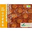 Albóndigas vegetales de quinoa con salsa de tomate ecológicas envase 350 g sin gluten y sin lactosa envase 350 g Soria Natural