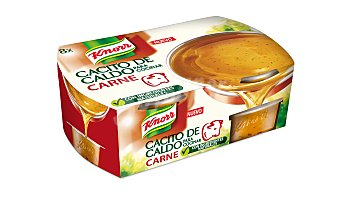 Knorr Cacitos de caldo de carne knorr 8 ud