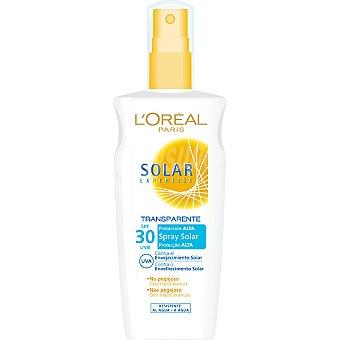 Solar Expertise L'Oréal Paris Espray solar FP-30 transparente contra el envejecimiento solar resistente al agua Spray 200 ml