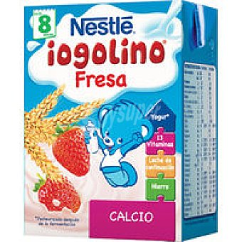 Nestlé Iogolino bebida fresa cereales 200ml