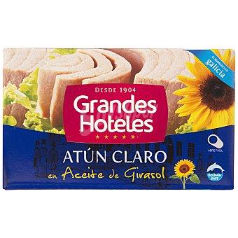 Grandes hoteles Atun claro en aceite vegetal Lata 72 gr