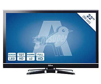 """Qilive Televisión 22"""" LED Q1885 1 unidad"""