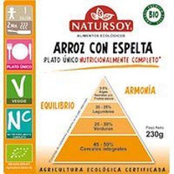 Natursoy ARROZ CON ESPELTA 230 GR