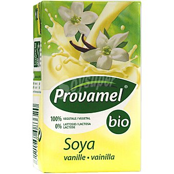 SANTIVERI PROVAMEL Bio Bebida de soja sabor vainilla ecológica envase mini Brik 25 cl