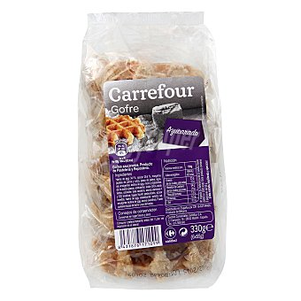 Carrefour Gofre natural Pack 6x55 g