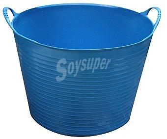 Altuna Cubo flexible multiuso de plástico virgen de color azul, con capacidad de y para uso alimentario altuna 38 litros