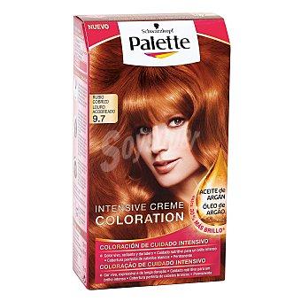 Palette Schwarzkopf Intense Color Cream rubio cobrizo nº 9.7 coloración de cuidado intensivo Caja 1 unidad