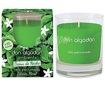 Don Algodón Vela perfumada, Dama de Noche, edición floral ambients algodón ambientys
