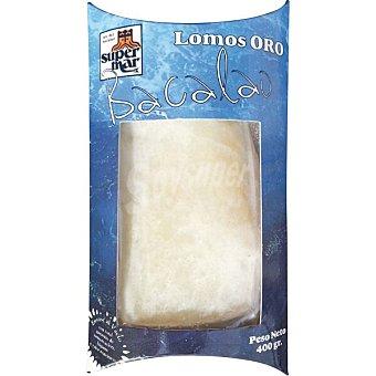 """Supermar Lomos de bacalao """"oro"""" Envase 400 g"""