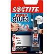 Super Glue-3 pegamento Power Flex gel universal instantaneo fuerte preciso y flexible tubo 3 g Tubo 3 g Loctite