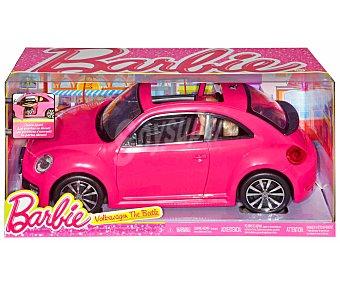 Barbie Muñeca Barbie con su coche New Beetle 1 Unidad