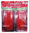 Chorizo pamplona lonchas 2 x 112,5 g (225 g) Hacendado