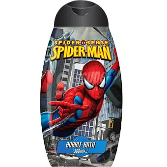 Spiderman gel de baño infantil Frasco 300 ml