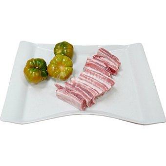 Costillas frescas de cerdo