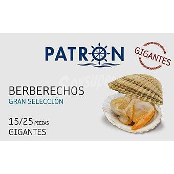 PATRON GRAN SELECCION berberechos gigantes 15-25 piezas lata 63 g neto escurrido